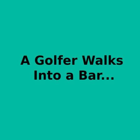 Golf in the bar #91